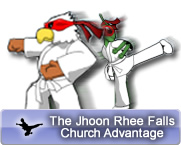 The Jhoon Rhee Falls Church Advantage
