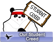 Our Student Creed